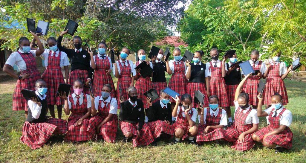 Eine Welt Stiftung Lulu Girls High School in Corona-Zeiten
